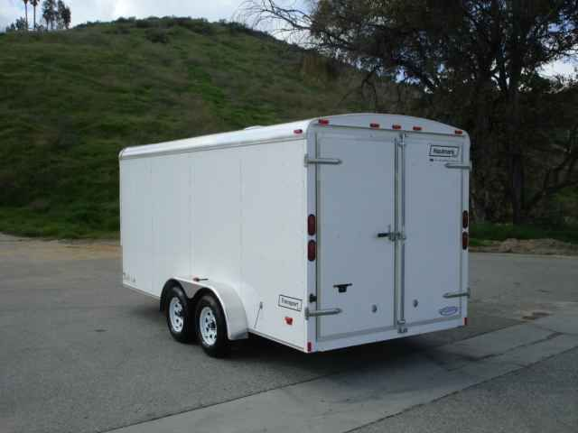 2016 New Haulmark TS7X16DT2 Toy Hauler in California CA.Recreational Vehicle, rv, 2014 HAULMARK TS7X16DT2, Options Transport DLX Steel Frame Tag Round Front Round Roof 16ft Long 7ft Wide 2-5/16in 10,000lb Coupler (1 EA) 2in x 4in Tube Main Rails Crossmembers 24in On Center Z Crossmembers Standard Height Vertical Posts 16in On Center 72-3/4in Z Posts (1 EA) Roof Bows 24in On Center Tube Roof Bows Standard A-Frame Tongue 7,800lb Silver Safety Chains w/Gold Hook (1 PR) Sand Pad (1 EA) 2,000lb…