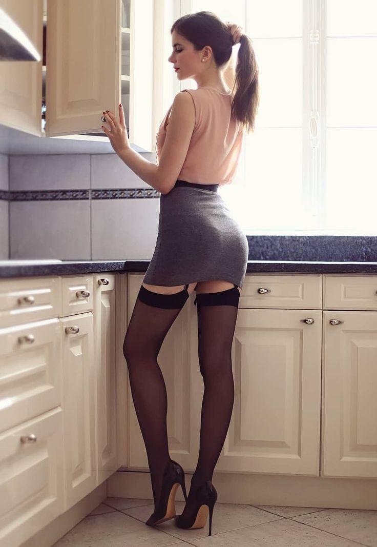 улице черные колготки на кухне придет