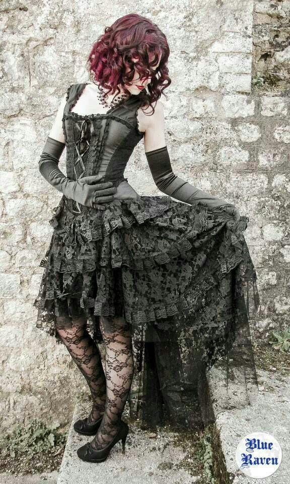 Not out of the theme at all! If you like gothic, still very sexy! Victorian goth http://victorian-goth.tumblr.com/