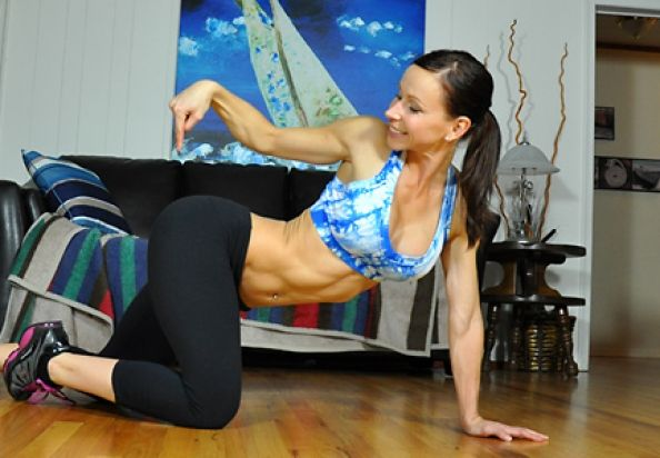Abs-olutely Fabulous: Ab-Toning Stability Ball Workout.