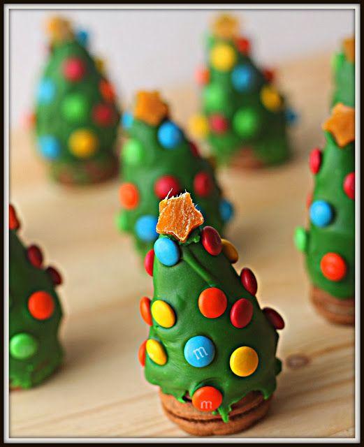 Cinq Fourchettes etc.: Sapins de Noël en truffes d'Oreo