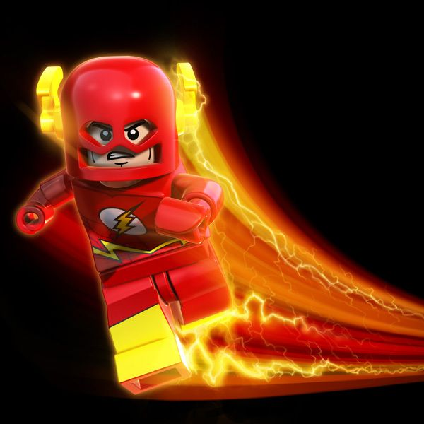 Now that I have a young child, I'm really digging the LEGO. Here's Flash.