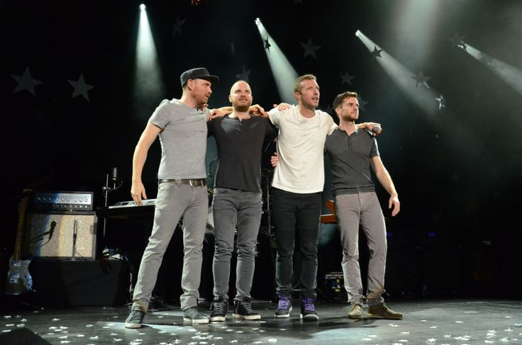 Coldplay: News - Pictures from Saturday's Munich show