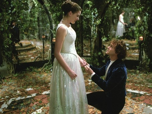 Ella Enchanted (2004) with Anne Hathaway as Ella and Hugh Dancy as Char. #CostumeDesign: Ruth Myers ♥ MELT