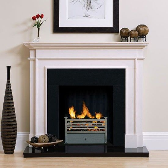 Large or small | Contemporary fireplaces | 10 of the best | Charterhouse | Homes & Gardens | Housetohome.co.uk