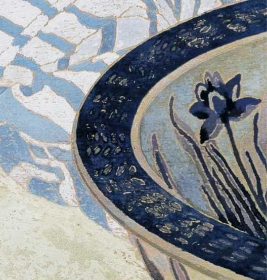 Bowl - The Woodblock Painting of Cressida Campbell