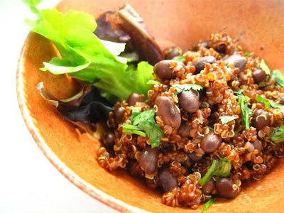 Quinoa Salad with Smoky Lime Dressing |familystylefood|recipe