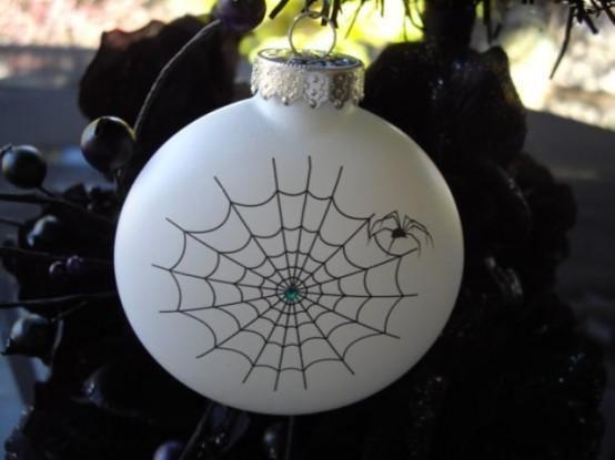Reine weiße Halloween-elegante Ideen 6