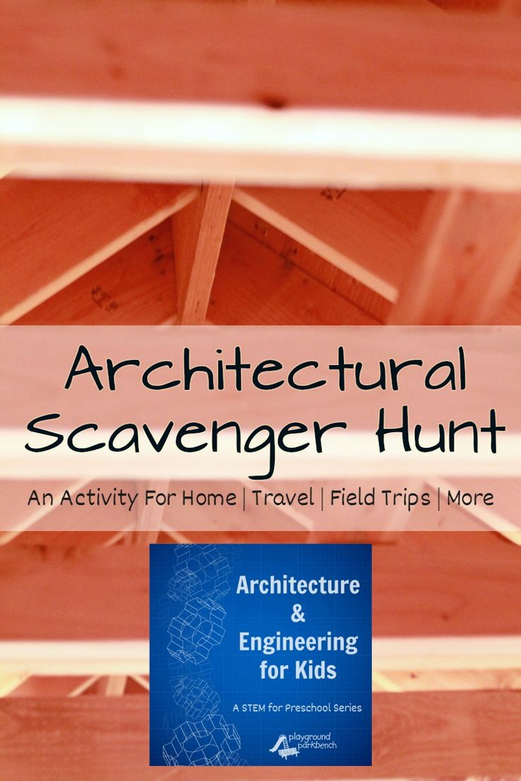 Indoor Scavenger Hunt for Kids - Exploring Architectural Features in Your Home emphasizes just how much Architecture and Engineering is present and tangible in our everyday lives.  The latest activity in our Architecture & Engineering for Kids - a STEM for Preschool series