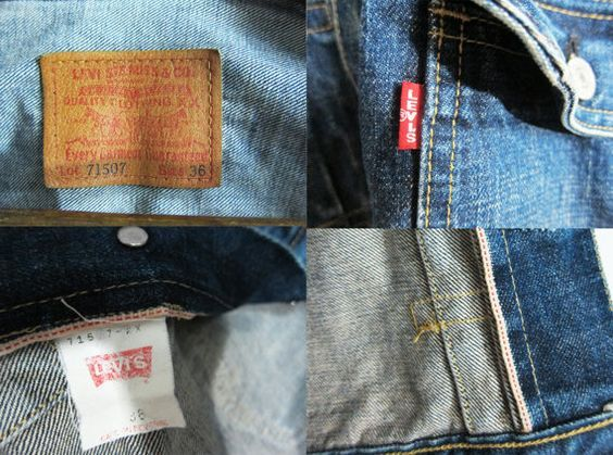 Levi's LVC 507 Type 2 Denim Jacket Japan J02 Red Line Selvedge Big E Go Etsy shop for more details https://www.etsy.com/uk/listing/471604443/levis-lvc-507-type-2-denim-jacket-japan?ref=shop_home_active_1