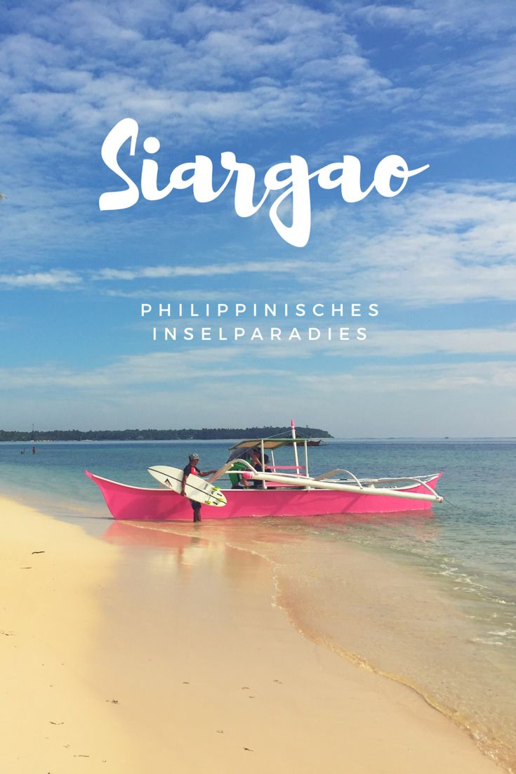 Inselurlaub gefällig? Traumhafte Strände unter Palmen, blaues Meer und herrliches Inselfeeling findet ihr auf Siargao!  #strand #meer #traumstrand #siargao #philippinen #urlaub #reisen #travel #beach #inselurlaub