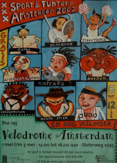 Sport & Funtour Amstersdam www.peterwhoekstra.nl