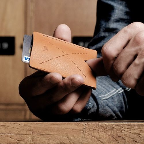 Hard Graft Card Case // loving leather