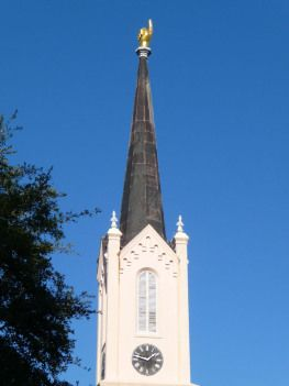 First Presbyterian Church of Port Gibson has more to offer than just that golden hand on the steeple.