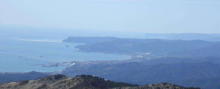 Indrukwekkend uitzicht vanaf Monte Beigua