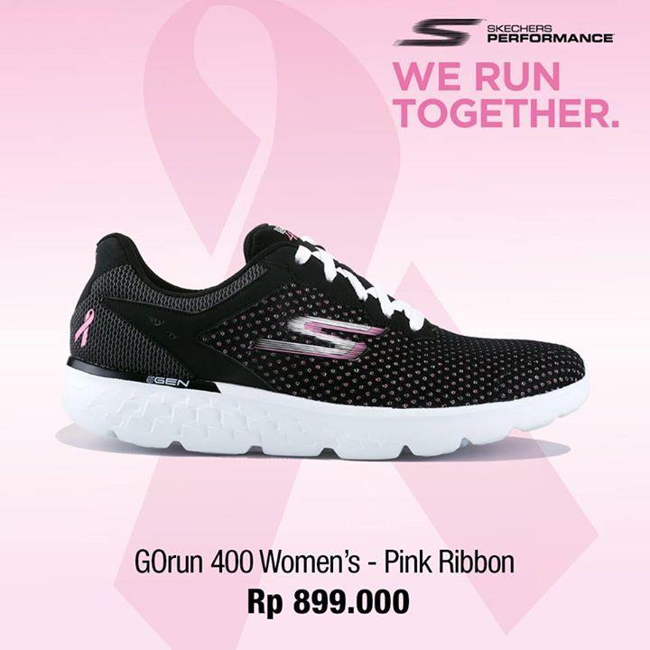 Berlari akan terasa lebih ringan dan nyaman dengan Skechers GOrun 400! Miliki edisi khusus Skechers GOrun 400 - Pink Ribbon dan koleksi GOrun terbaru lainnya. Kunjungi toko & belanja online www.planetsports.net untuk pengiriman gratis ke seluruh Indonesia.  Pink Ribbon adalah simbol internasional untuk bulan kesadaran kanker payudara, yang jatuh setiap bulan Oktober. Tunjukkan kepedulianmu dengan ikut berpartisipasi di Skechers Walk & Run for Pink Ribbon, 30 Oktober 2016. #outdoor #knives…