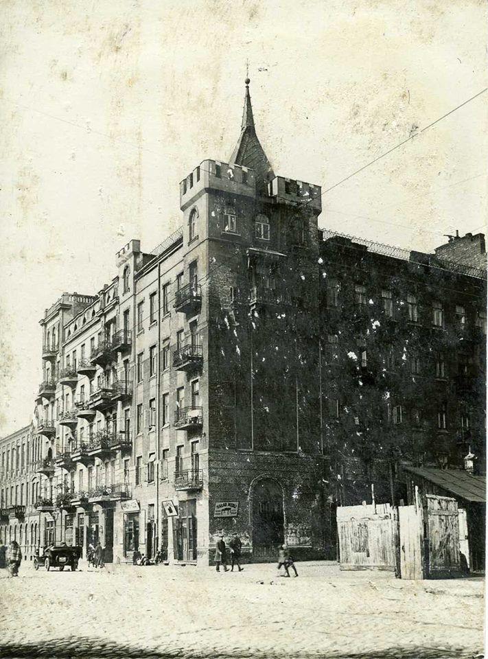 Warszawa - Praga, kamienica Klatczyńskiego przy ul. Ząbkowskiej (lata 20. XX w.)