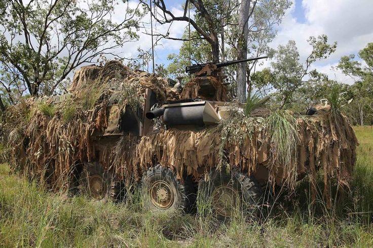 A surveillance variant of the Australian Light Armoured