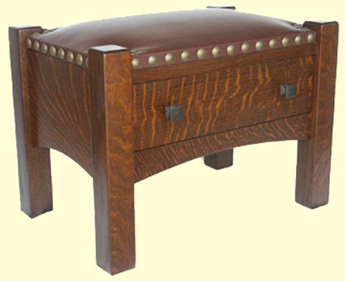 Smokers-Footstool-Plans-Limbert-Stickley-Mission-Arts-and-Crafts-Furniture