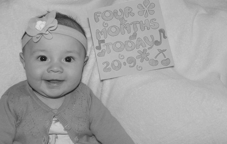 My Little Girl Is 4 Months Old... 20 September 2013....