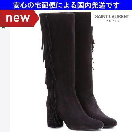 CRUISE☆日本未発売 ベイビーズ フリンジブーツ☆サンローラン