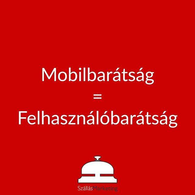 Sok felhasználó nézi az oldalakat mobilról. Instagramm esetében különösen! --- Ha nem mobilbarát oldalad akkor vendégeid kevésbé fogják szeretni felületeidet. A mobilbarátság mára nem luxus hanem alapvető elvárás. ---- Neked mobilbarát a weboldalad? ------ #szállás #szálloda #vendégház #direktfoglalás #foglalás #turisztika #idegenforgalom #vendeglatas #vendég #turizmus #idegenforgalom #vallakozas #üzlet #falusiturizmus #szallasmarketing #inboundmarketingtippek #socialmarketing…