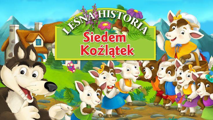 Baśń Braci Grimm Siedem koźlątek - bajka dla dzieci