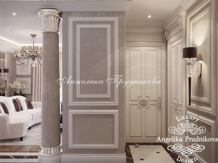Дизайн квартиры в стиле современная классика в Зеленограде - фото