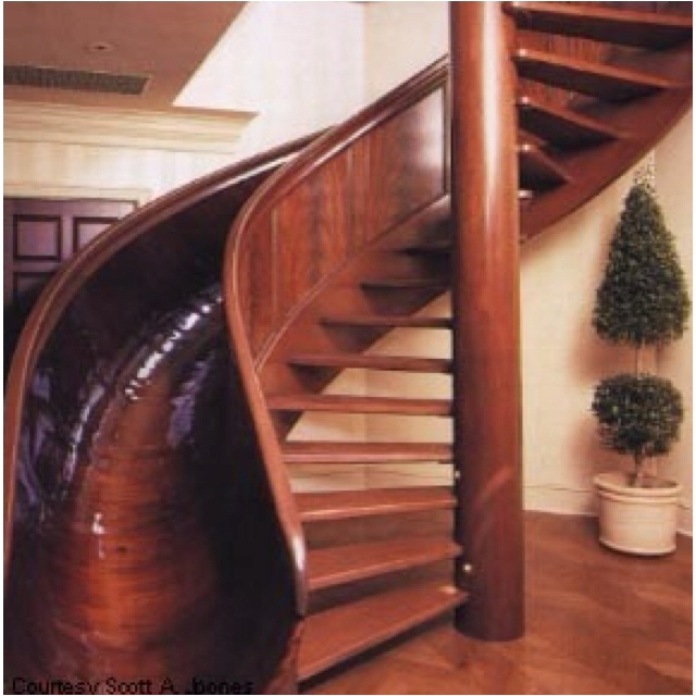 Staircase.: Spirals Staircases, Spirals Stairs, Walks, Future House, Sliding Stairs, Dreams House, I Want This, Kids, Stairs Sliding