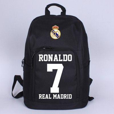 Real Madrid Ronaldo 7 Shoulder Bags Backpack