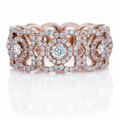 La bague Enchanted Lotus de De Beers
