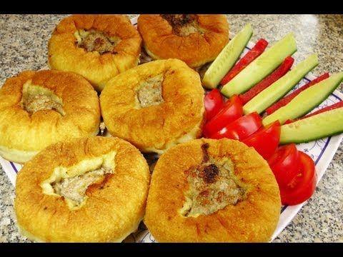 Beljaschi /gefüllte Teigtaschen