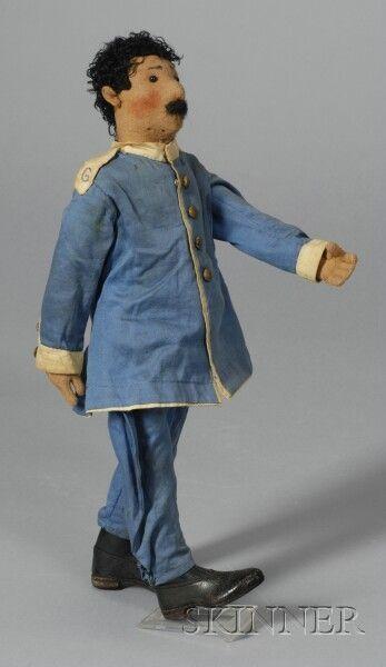Steiff Felt Soldier Doll | Sale Number 2355, Lot Number 862 | Skinner Auctioneers
