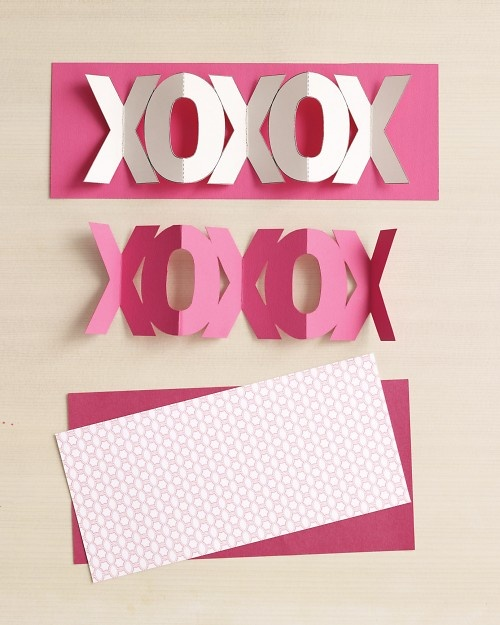 martha's templates for accordian cards and garland cards