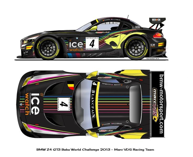 Bmw Z4 Gt3 Side Top Drawings Dessins Art Pinterest