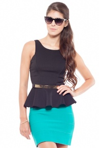 I have this! (Black Scuba Peplum Top- Foreign Exchange): Unique Style, Foreign Exchange, Peplum Top