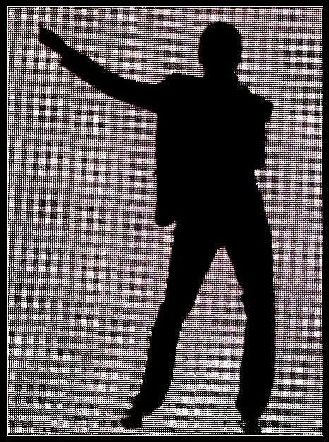 Tour screen - Dave Gahan - Depeche Mode