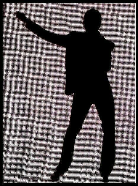 Tour screen - Dave Gahan - Depeche Mode