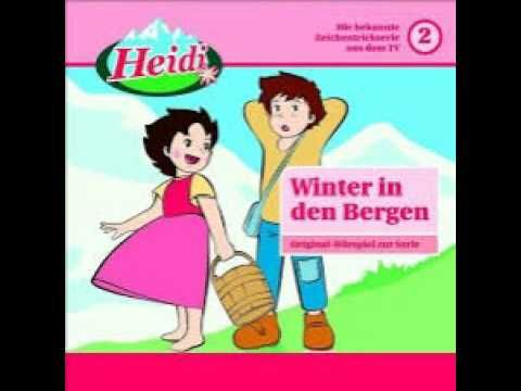 Heidilied - Zweijähriges Kind singt Heidi Lied lustig
