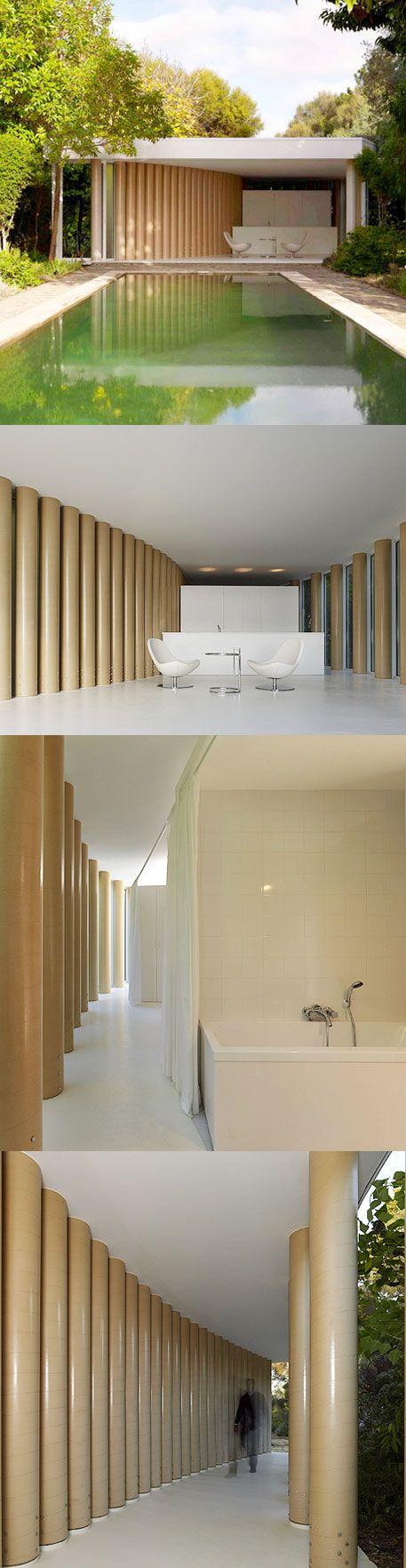SHIGERU BAN - sonotube colonnade