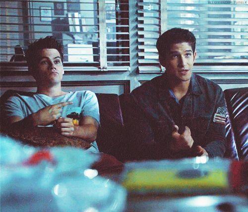 Stiles & Scott are so like me and my bestie
