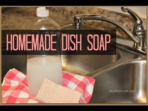 Liquid Dish Soap Recipe