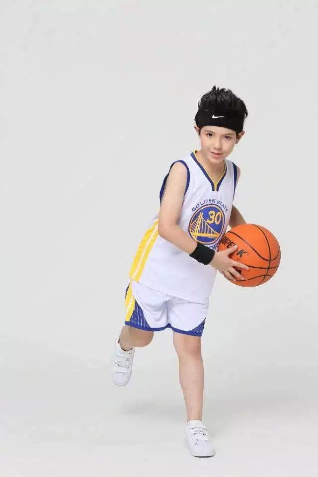 Curry 2016 blanco ninos  NBA camistas y shorts 80-150cm