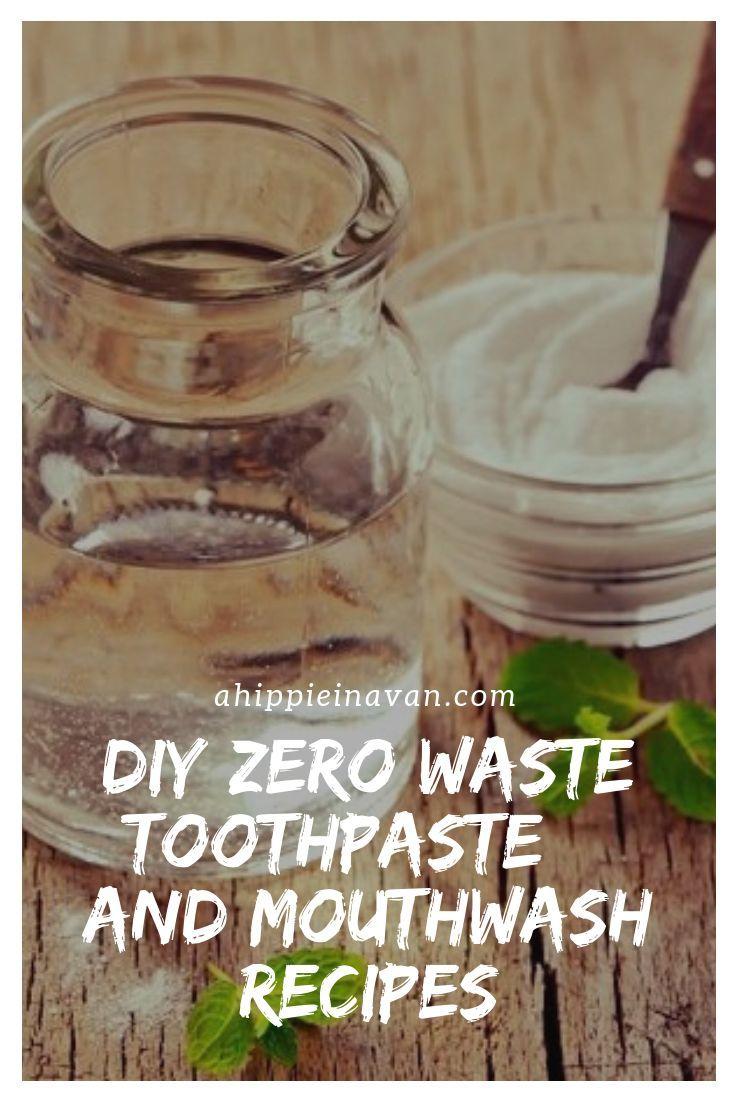 DIY #zerowaste toothpaste + mouthwash recipes, plus all my favorite zero waste o…