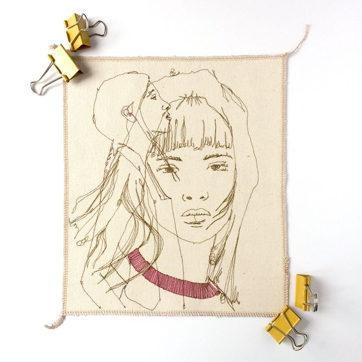 A personal favourite from my Etsy shop https://www.etsy.com/uk/listing/545507862/embroidered-artwork-textile-art-textile