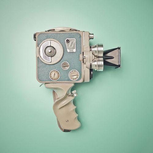 """doyoulikevintage: """" Old super 8 camera """""""