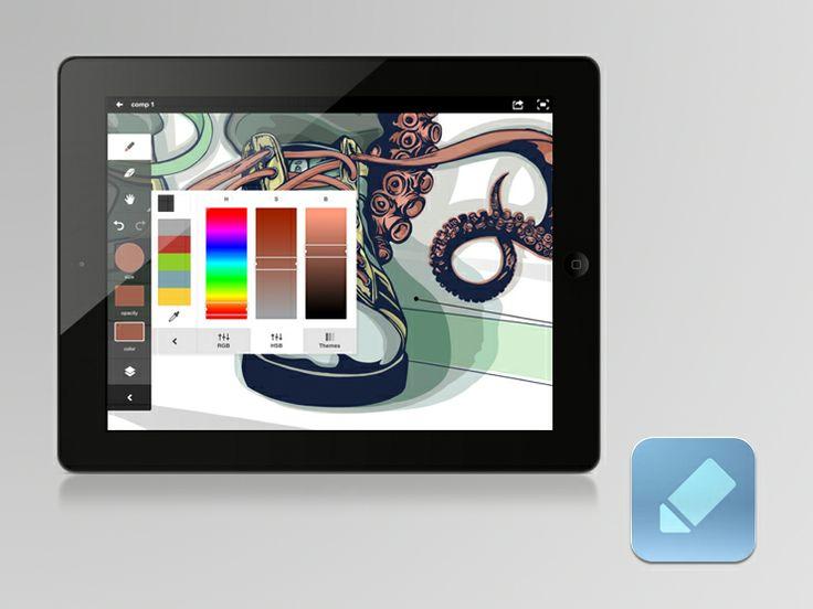 ipad apps web design adobeideas1 Six Clever Web Design Apps
