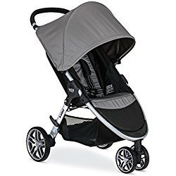 Britax 2017 B-Agile Stroller, Steel Grey