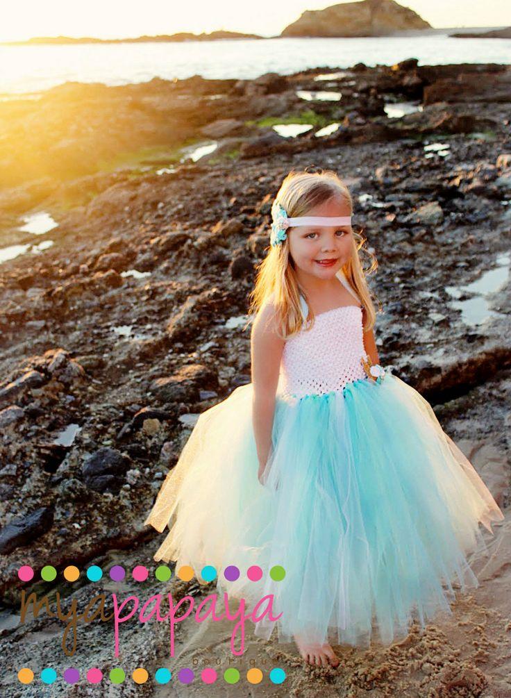 Dress Beach Wedding Flower Girl Dress Mermaid Dress Via