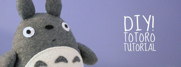 sew your own Totoro!  Squeee!: Totoro Sewing Patterns, Plush Tutorials, Plushies Tutorials, Crafts And Diy, Diy Tutorials On Sewing Toys, Totoro Tutorials, Totoro Plushies, Free Patterns, Diy Totoro